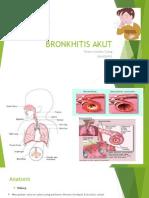 Bronkhitis Akut