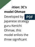 3 Cs model