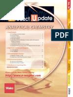 Wako Product Update on Analytical Chemistry