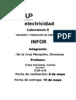 Electricidad Laboratorio 8