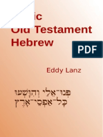 00 Basic OT Hebrew