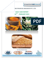 Daily Agri Report by Capital Stars-24 Feb 2015