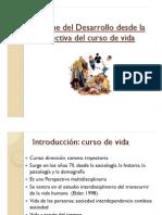Diapositivas sobre Curso de Vida