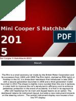 Mini Cooper S Hatchback 2015 Images
