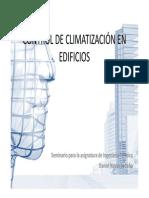 Seminario de control de climatización de edificios