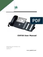 Yealink Exp38 User Manual