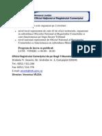 Registrul Comertului Este Organizat Pe 2 Niveluri