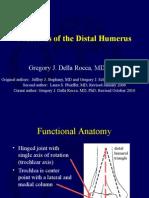 Fx of Distal Humerus