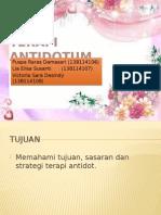 Terapi Antidotum