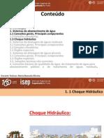 5 - Choque Hidraulico (Condutas Adutoras Graviticas e Elevatorias), Dispositivos de Proteçao