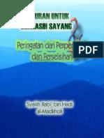 Nasehat Indah Syaikh Rabi
