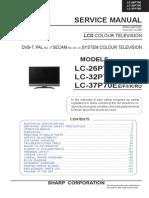 Sharp Lc26p70e Lcd