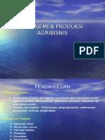 III.manajemen Produksi