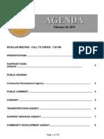 Agenda  2-24-2015