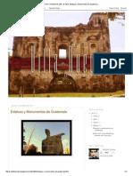 Estatuas y Monumentos de Guatemala