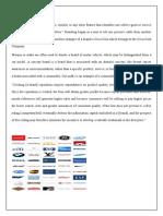 MARKETING Project Sem 4 Branding in International Market