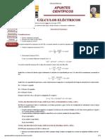Cálculos Eléctricos pararrayos