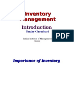 PPT 01 Inventory Management Introduction