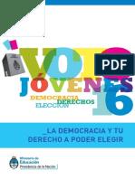 Voto de Jovenes en la República Argentina