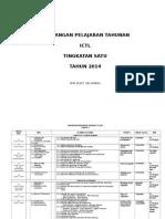 Rancangan Pengajaran Tahunan ICTL Tingkatan 1 2014