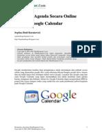 Membuat Agenda Secara Online Melalui Google Calendar