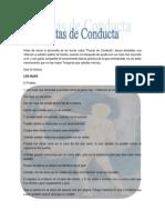 """Tomo I.- Pautas de Conducta i """"Estableciendo Normas y Reglas"""""""