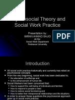 psycosocial Theory and Social Work-Imran Ahmad Sajid