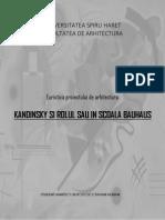 Rolul Lui Kandinsky in Bauhaus