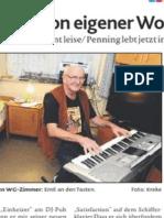 Mit 69 träumt Emil von eigener Wohnung - Musiker und DJ verlässt Lastrup ungewohnt leise/ Penning lebt jetzt in Oldenburger WG