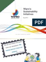 Wipro Sustainability Initiatives Presentation