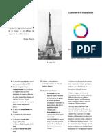 Brochure Lajourneedelafrancophonie