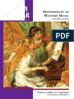 Modern Scholar - Masterpieces of Western Music Course Guide