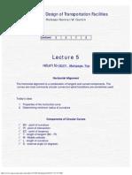 Geometric Design Lecture5 Prof. Garrick