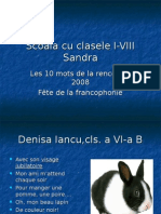 Les 10 Mots 2008