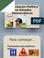 Formação - Organização Política Dos Estados Democráticos
