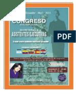 Congreso Internacional de Secretarias y Asistentes Ejecutivas - Abril 2015