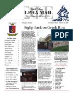 usu sigep fall 09 newsletter