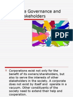 Corporate Governance and Other Stakeholders