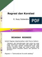 Regresi Korelasi