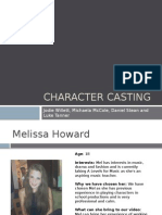 Character Casting New