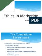 marketing ethics essays