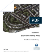 Nov 2015 - BAS 01 Basements Submission Policy