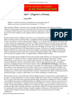 Wole Soyinka's _Hamlet__ (Nigeria's a Prison).pdf