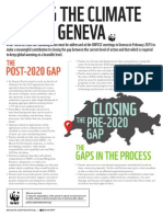 Closing the Climate Gaps in Geneva Infographic