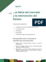 Anexo 3 Los Fallos Del Mercado y La Intervención Del Estado