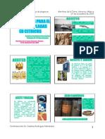 Alternativas Para El Manejo de Plagas en Cítricos