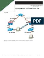 CCNASv1.1 Chp08 Lab B Rmt Acc VPN Student