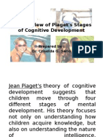 An Overview of Piaget's Stages of Cognitive Development Ppt