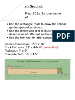 school garden sketchup instructions and dimensions v2