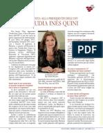 Intervista alla presidente dell'OIV Claudia Inés Quini